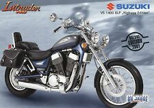 Suzuki Prospekt Intruder VS 1400 GLP Highway Edition 1/01 2001 Motorradprospekt