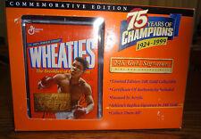 Wheaties 24 K Gold Signature Mini Box Collectible Muhammad Ali – Brand New
