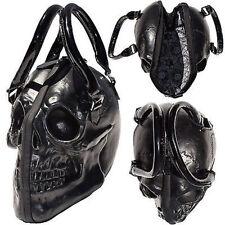 Kreepsville 666 Skull Black Purse Death Skull Skeleton Coffin Handbag Bag