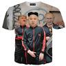 Funny President 3D T-shirt Kim Jong Un Donald Trump And Putin Style Size S - 7XL
