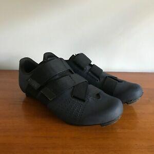 Fizik Powerstrap Navy Cycling Shoes UK9.25 - EU43.5 Used But Good