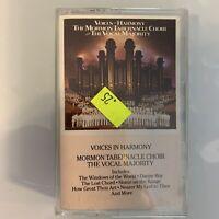 Mormon Tabernacle Choir Voices in Harmony (Cassette)