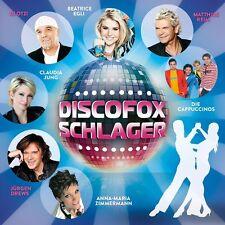 DISCOFOX-SCHLAGER 2  CD Matthias Reim,Michelle, Beatrice Egli ,Dj Ötzi    NEU