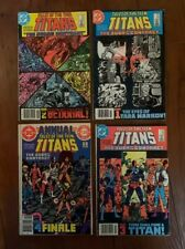 Tales Teen Titans Judas Contract 1-4 42 43 44 Annual 3 1st Nightwing Deathstroke