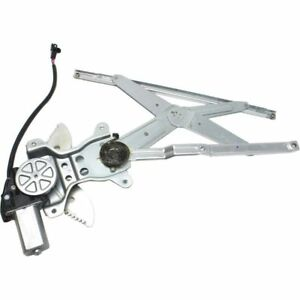 New Front Driver Side With Motor Window Regulator For Chevrolet Prizm 1998-2002
