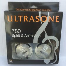 New Ultrasone HFI 780 S Logic Surround Over Ear Closed Back Headphones