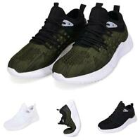 Mens Leisure Sneakers Shoes Soft Outdoor Running Jogging Fitness Tennis Sports D