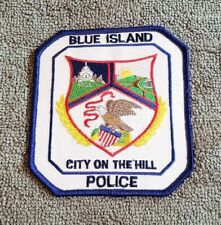Blue Island Illinois Police Shoulder Patch