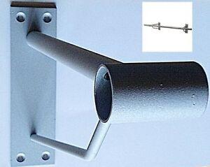 Träger zur Wandbefestigung für Ø25mm Rundrohr, Wandabstand 310 mm