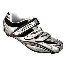 Silver Cycling Shoes