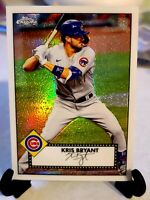 Kris Bryant 2021 Topps Series 1 Redux Chrome #TC52-39 - Chicago Cubs