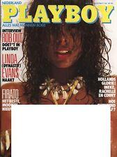 Dutch Playboy Magazine 1986-08 Rebecca Michelle Ferratti, Linda Evens ...