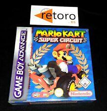 MARIO KART SUPER CIRCUIT GAME BOY ADVANCE GBA PAL ESPAÑA NEW ENVIO COMBINADO OK