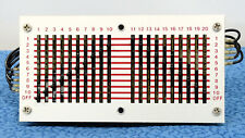 Cherry 10x20 Sliding Matrix Switch for Synthesizer Patching, Intercom, More- Nr!