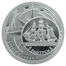 Poland / Polen - 10zl History of the Polish Zloty: Sailing Vessel
