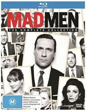 Mad Men: The Complete Collection Seasons 1 - 7 | Boxset : NEW Blu-Ray
