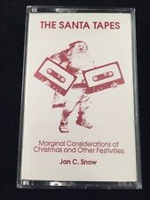 THE SANTA TAPES-JAN C. SNOW-FAVORITES-CASSETTE TAPE-CHRISTMAS/OTHER FESTIVITIES