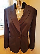 Marks And Spencer Ladies Long Sleeve Jacket In Navy Colour Size 18