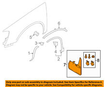 VW VOLKSWAGEN OEM 09-17 Tiguan Fender-Splash Guard Kit 5N0075111