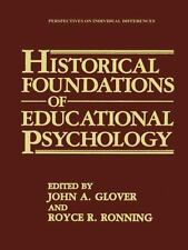 Historical Foundations of Educational Psychology (Perspectives on Individual
