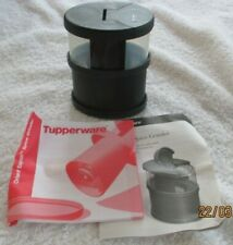 New Tupperware Orient Express Spice Grinder Black