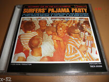SURFER's PAJAMA PARTY cd JAPAN Bruce Johnston Surfing Band LIVE ON UCLA campus