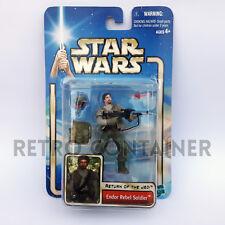 STAR WARS Kenner Hasbro Action Figure - SAGA COLLECTION - Endor Rebel Soldier