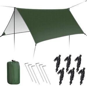 Zeltplane, Tarp für Hängematte, wasserdicht Regenschutz Sonnenschutz für Ourdoor