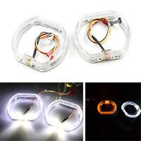 2PCS 12V DRL LED Angel Eyes Lights For Headlight/Fog Light/Daytime Running Light