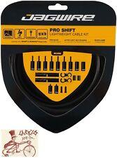 JAGWIRE PRO SHIFT DERAILLEUR STEALTH BLACK ROAD/MOUNTAIN SRAM/SHIMANO CABLE KIT