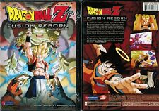 Dragon Ball Z Movie Fusion Reborn Uncut New Anime DVD Funimation Release