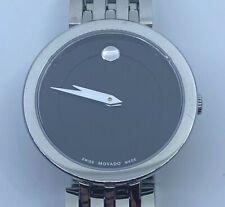 MOVADO Esperanza Matte Black Museum Dial Ladies Watch 0607051