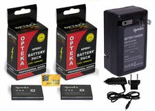Li-Ion 1000 mAh Camera Batteries for Sony