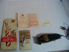 Wahl Clip Pet  9160 Small Animal Clipper Los Angeles California Safety Stamp