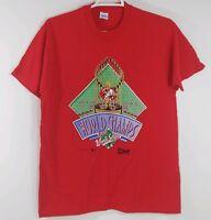 Cincinnati Reds XL 1990 World Series Champions MLB Champs Vintage T-Shirt