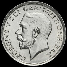 More details for 1915 george v silver shilling, a/unc #2