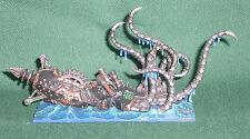 Rare OOP Citadel GW proxy Man O' War Dreadfleet painted Chaos Dwarf Kraken