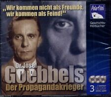 GOEBBELS - DER PROPAGANDAKRIEGER (3 CDs) NEU & OVP