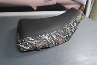 Honda Rancher 420 2007-13 Black Top Camo Seat Cover #nw254mik253