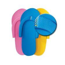 48 PAIRS - Foam Disposable Pedicure Slippers, Flip Flops SLIP RESISTANT SOLES