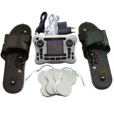Electric Tens/Ems Massager Pulse Therapy +Massage Slipper+pad