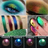 Matte Waterproof Light Changing Lidschatten Shimmer Augen Makeup Glitter Pa Z9L8