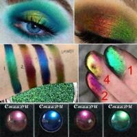Matte Waterproof Light Changing Lidschatten Shimmer Augen Makeup Glitter Pa Z9L8