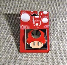 "CLEARANCE! 2008 Nintendo Super Mario Bros. 1.5"" MUSHROOM Pin~ NEW! NRF Packaging"