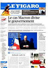 Le Figaro 22.3.2017 n°22586*MACRON divise**WAL DISNEY=La BELLE et la BÊTE*Lycées