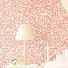 Roses Allover Stencil - LARGE - Floral Wall Pattern - Easy Wallpaper Alternative