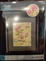 """BOUTEILLE de PARFUM Zweigart ARTISTE Counted Cross Stitch Kit 9x12"""" Perfume new"""