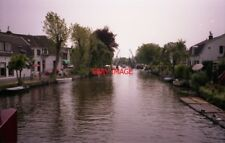 PHOTO  NETHERLANDS ON RIVER VECHT 1991 VIEWS ON THE RIVER v12