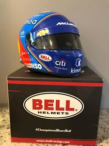 "ALONSO 1/2 SCALE HELMET INDY 500 ""NEW"""