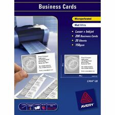 Avery Laser Business Cards L7414-20 10up Pk of 20 - AD959025